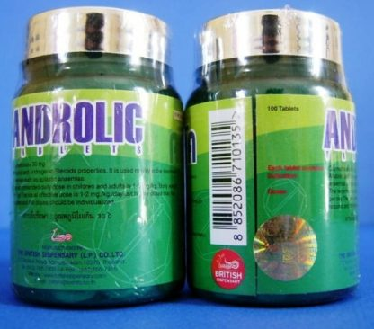 british dispensary androlic 50mg oxymetholone tablets for sale