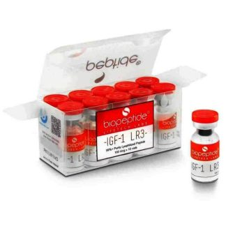 lifetech labs biopeptide 1000mcg igf-1 lr3 injection kit