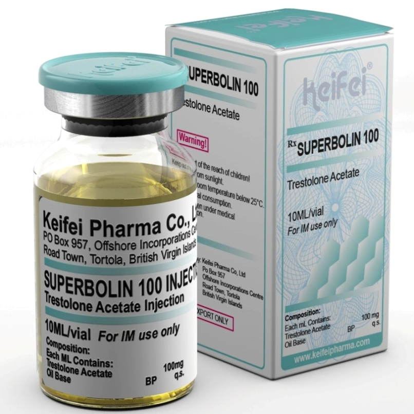 keifei pharma trestolone acetate 100mg injection for sale
