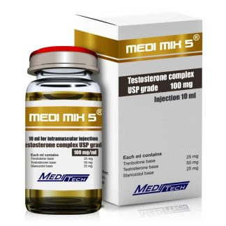 meditech pharmaceuticals 100mg medi mix 5 injection vial