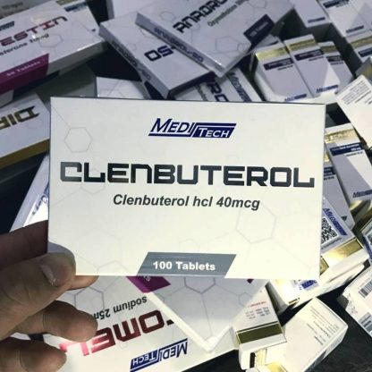 meditech 40mcg clenbuterol tablets for sale