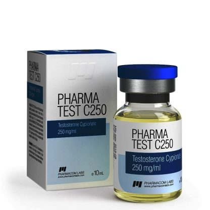 pharmacom labs 250mg testosterone cypionate injection vial for sale