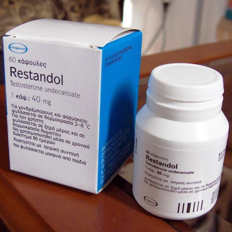 restandol testocaps 40mg testosterone undecanoate capsules by organon