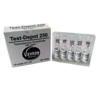 veyron pharma 250mg testosterone enanthate injection amps